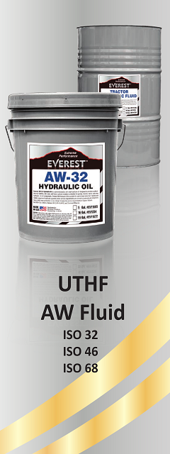 Everest Hydraulic Oil and Tractor HT Fluid - American Engine