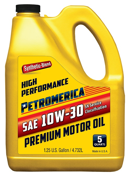 Petromerica motor oil american engine oil american for What is synthetic motor oil