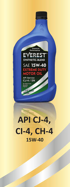 15w40 Diesel Oil >> Everest Motor Oil 15W40 - American Engine Oil - American Made Motor Oil - American Engine Oil